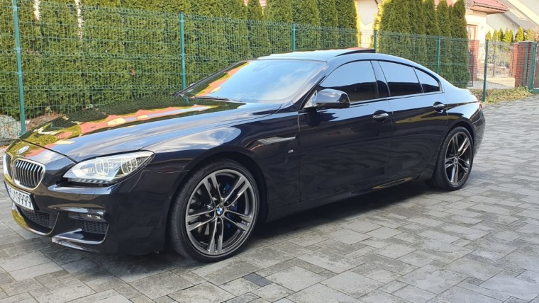 BMW 640d GRAN COUPE M-PAKIET